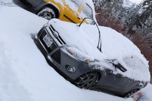 Once correctly put on, tire chains will allow you to navigate the snowy/icy mountain roads without fear.
